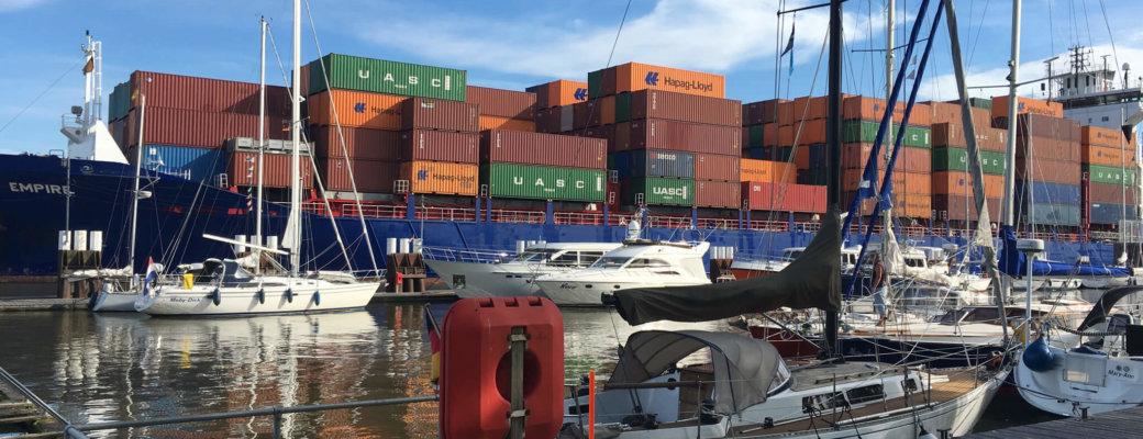Sailing The Kiel Canal